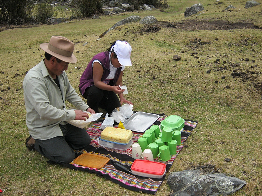 Bernardo the best cook of Cordillera Blanca